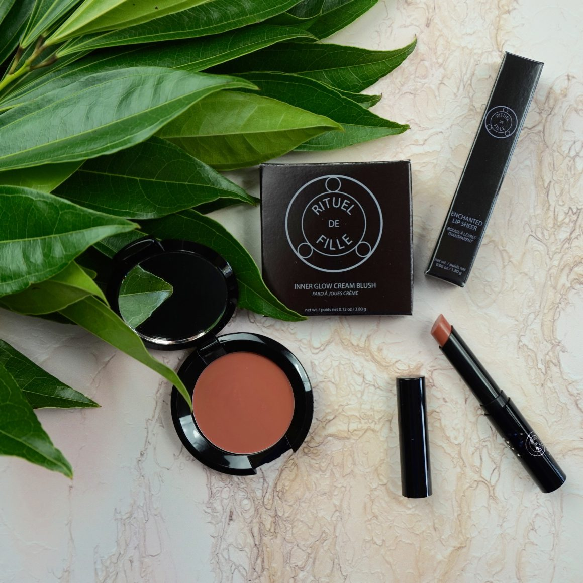 Rituel de Fille Cream Blush and Lip Sheer Review