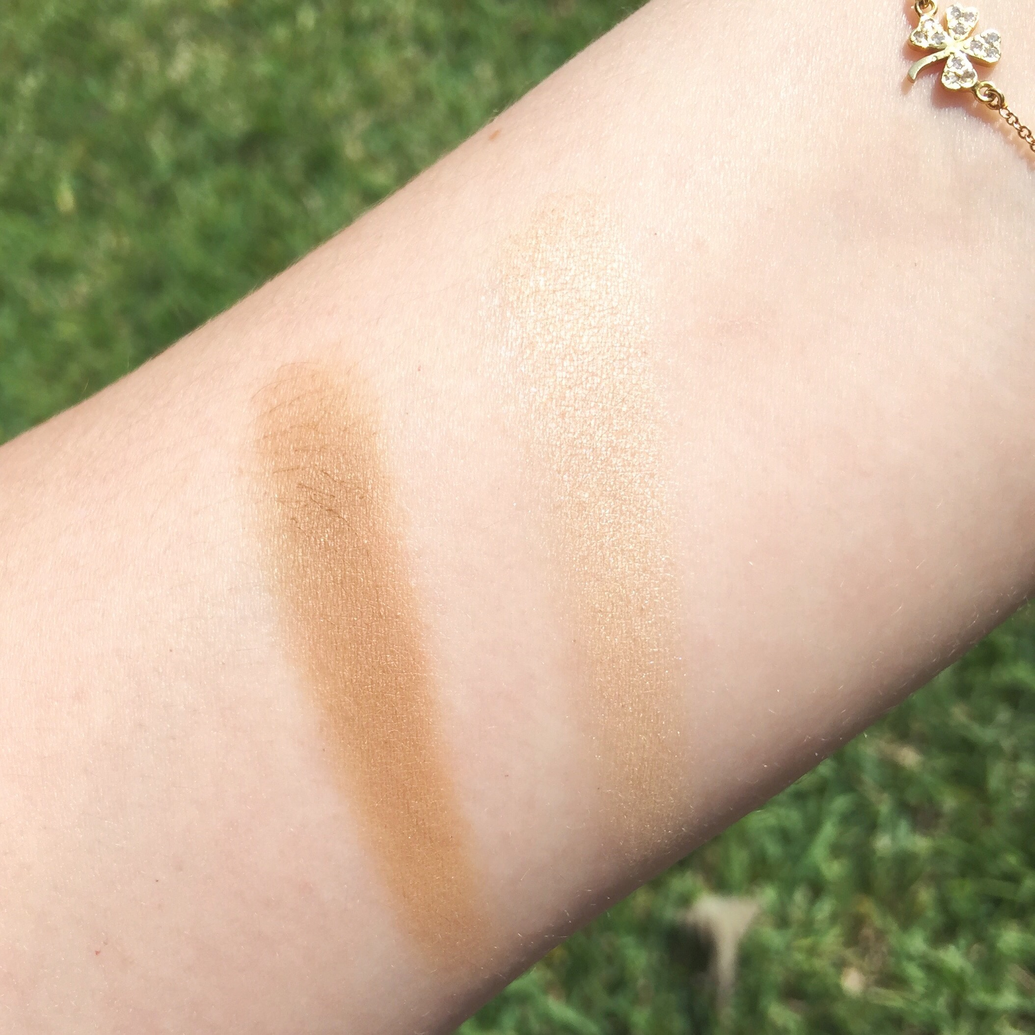 Lily lolo sculpt and glow contour duo swatch