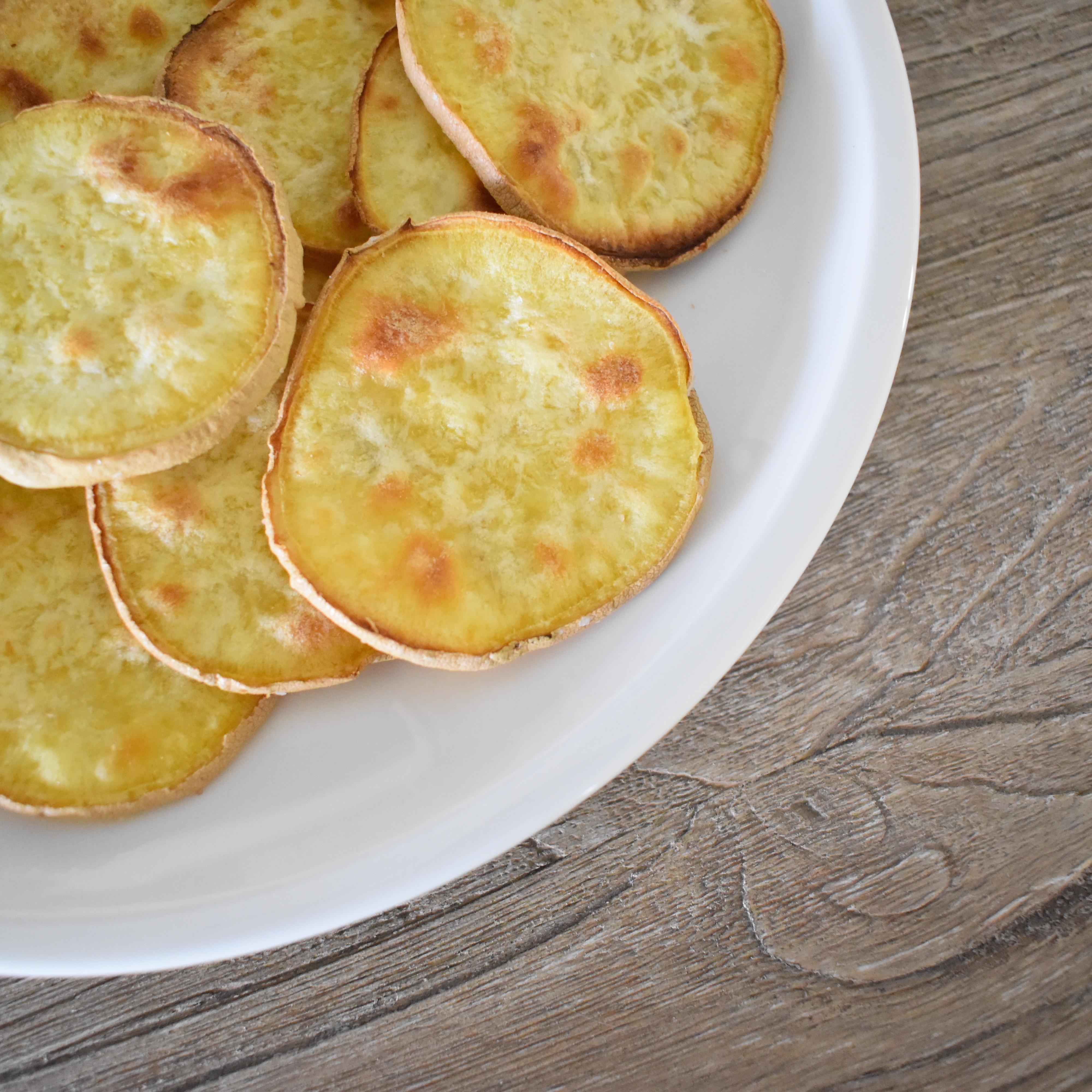 AIP sweet potato chips; Whole 30 sweet potato chips; Paleo sweet potato chips