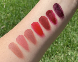 nars 7 deadly sins palette lip swatches