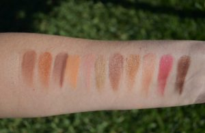 nars afterglow palette swatches