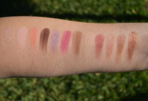 viseart rose edit palette swatches