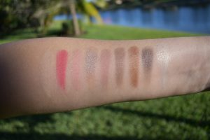 Mac girls risk taker palette swatches