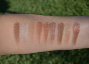 Beautycounter classic palette swatches
